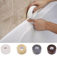 3.2M*38MM Bathroom Bath And Wall Sealing Strip PVC Self Adhesive Seal Tape New ~