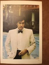 "Bryan Ferry Another Time & Beck,Bogert Appice 2 Sided Vintage Poster 15x10"", P79"