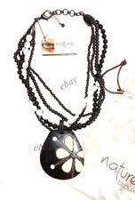 NATURE BIJOUX collier Multi-rangs avec médaillon neuf val.139 €
