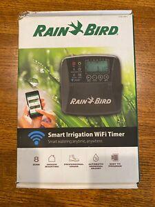 Rain Bird ST8-WiFi 8-Zone Indoor Irrigation System Controller Smart Irrigation