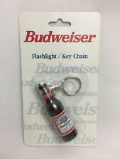 Budweiser Flashlight/key Chain-Powered By A Replaceable Type N Battery Included