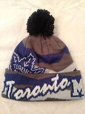 Toronto Maple Leafs NEW Adult Winter Knit Hat w Pom . NHL Hockey Warm Men Women