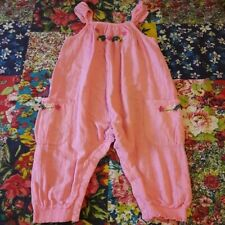 NEXT 12-18 GIRLS PINK SUMMER PLAYSUIT JUMPSUIT HOLIDAY