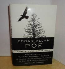 EDGAR ALLAN POE Library of Essential Writers: Fiction and Poetry unabridged