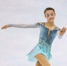 Custom ice skating dress Fashion figure Skating Dresses For Adults or Girls A958