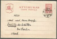 Lithuania 1927-1930 Postal stationery Mi P14, Used