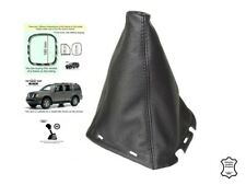 For Nissan Pathfinder 05-12 Gear Stick Gaiter Genuine Leather with Plastic Frame