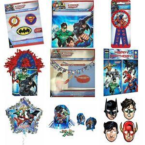Dc Comic Justice League Kids/Children Birthday Party Decorations Tableware Ballo