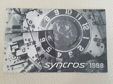 Vintage Original SYNCROS Bicycle Catalogue 1998