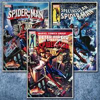 Peter Parker Spectacular Spider-Man #1 J Scott Campbell Exclusive (Set of 3)
