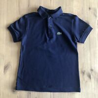 Lacoste Polo T Shirt Kids Navy Size 5