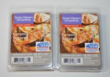 Better Homes & Gardens x2 Caramel Sugared Fig Wax Cubes New 2.5 oz