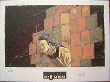 GIOUX Ex-libris Het B'Gevaar Signé Le vent des dieux