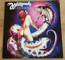 More details for whitesnake - lovehunter -12x12 inch metal sign