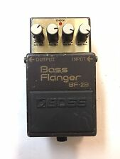Boss Roland BF-2B Bass Flanger Analog Rare Vintage 1990 Guitar Effect Pedal