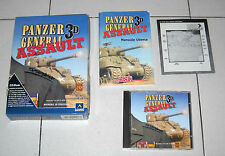 Gioco Pc Cd PANZER GENERAL 3D ASSAULT in BOX SSI ITA 1999 WWII Strategia