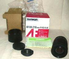 TAMRON AF 80-210 mm f4.5-5.6 Lens, for Minolta-AF New Old Stock #black