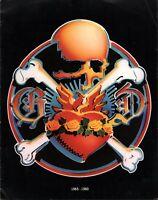 GRATEFUL DEAD 1980 15th ANNIVERSARY TOUR PROGRAM BOOK / JERRY GARCIA / VG 2 EXT
