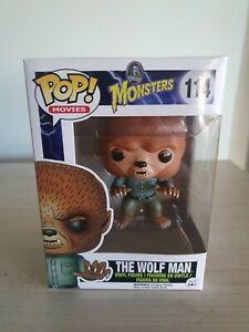 The Wolf Man Universal Monsters Funko Shop Pop Vinyl #114