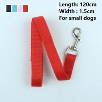 Small Dog Lead Nylon Durable Comfortable for Small Dogs Walking Training 4FT