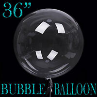 """36"""" inch Large Giant Latex Big Round Bubble Balloon Wedding Party Decoration"""