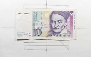 CrazieM World Bank Note - 1993 Germany 10 Mark - Collection Lot m557