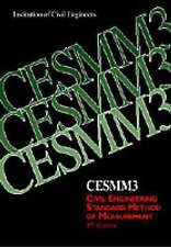 Cesmm3 by Institution of Civil Engineers