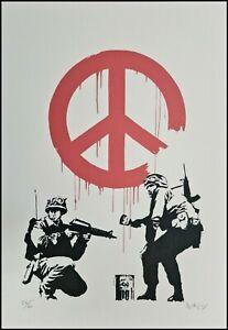 BANKSY * CND Soldiers * 50x35 cm * Lithografie * limitiert # 26/60