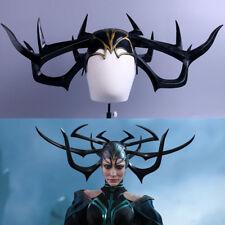 2017 Movie Thor 3 Ragnarok Hela PVC Cosplay Masks Horns Helmets Halloween Props