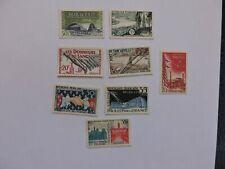 France : Lot de 8 timbres neufs ** des années 50 NSC MNH