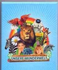 REWE - Unsere Wunderwelt 100 verschiedene Sticker viele Tiere Pflanzen Technik