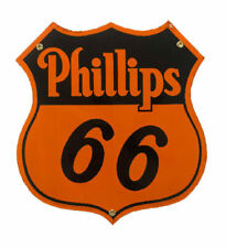 Phillips 66 Porcelain Advertising Sign