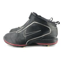 New listing B39) Nike Zoom Bandon Black Red Waterproof Golf Shoes Mens sz 10.5 (379208-006)