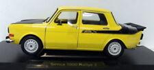 Auto sportive di modellismo statico gialla scala 1:18