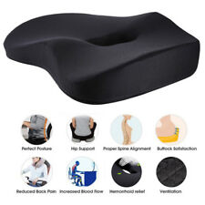 Memory Foam Office Home Car Seat Cushion Chair Pad Sciatica Pain Relief Comfort