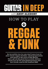 How to Play Bob Marley Style REGGAE & FUNK GUITAR Video Lessons DVD Andy Aledort
