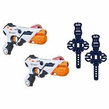 2 laser gun pack NEW Nerf alphapoint & Armband Ops Pro xmas Toy boy son dad gift