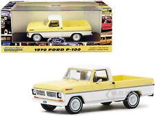 1970 FORD RANGER XLT PICKUP TRUCK YELLOW & WHITE 1/43 DIECAST GREENLIGHT 86339