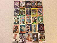 HALL OF FAME Baseball Card Lot 1977-2019 NOLAN RYAN DEREK JETER MICKEY MANTLE