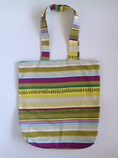 Ladies Handmade Cotton Eco Retro Shopping tote Library School Dance Or Work Bag