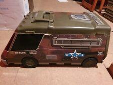 Micro Machines vintage army military supercity van foldout playset