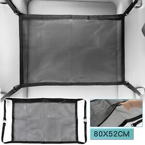 "31""x20"" Car Ceiling Cargo Mesh Storage Roof Net Pocket Adjustable Bag Organizer"