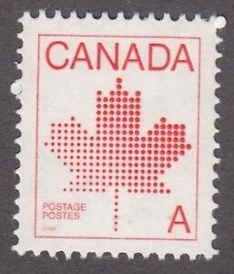 Canada, 1981, 'A' stamp,  Sc907, mint never hinged, MNH.