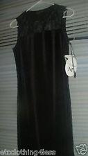 Nwt My Michelle Black Social Dress w  Sz Med Stretch