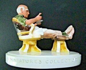 "VINTAGE 1985 SEBASTIAN COLLECTORS SOCIETY FIGURINE ""P.W. BASTON A SELF PORTRAIT"""