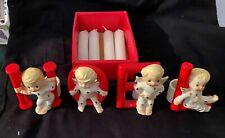 New ListingNoel Angel Candle Stick holders