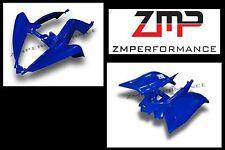 NEW YAMAHA RAPTOR 700 13 - 16 DARK BLUE PLASTIC CUSTOM FRONT AND REAR FENDER SET