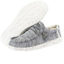 Hey Dude Wally Sox Stone White Men's Shoes Comfortable Ligthweight SlipOn Casual