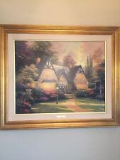 "Thomas Kinkade Authentic Limited Edition Lithograph canvas ""Winsor Manor"""