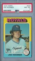 1975 Topps #629 Joe Hoerner PSA 8 Royals baseball card